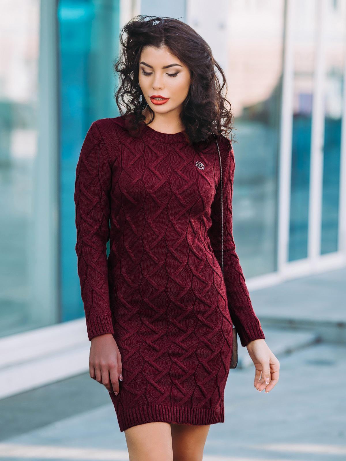 Платье вязаное 26102/1