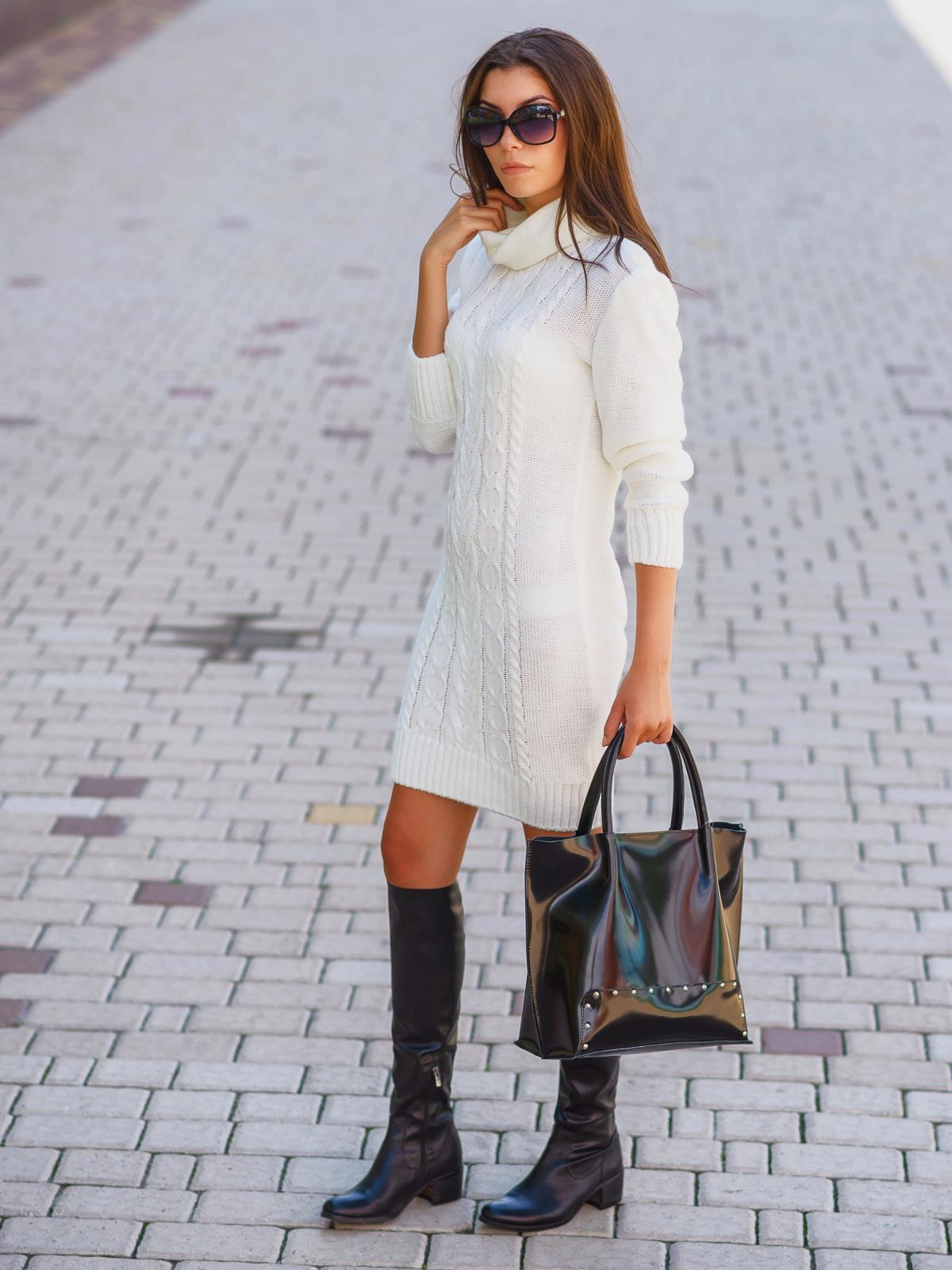 Платье вязаное 7045/008