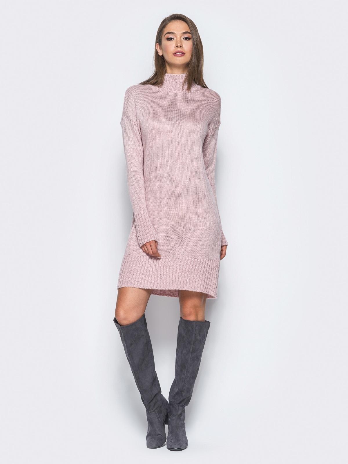 Платье вязаное 7182/150