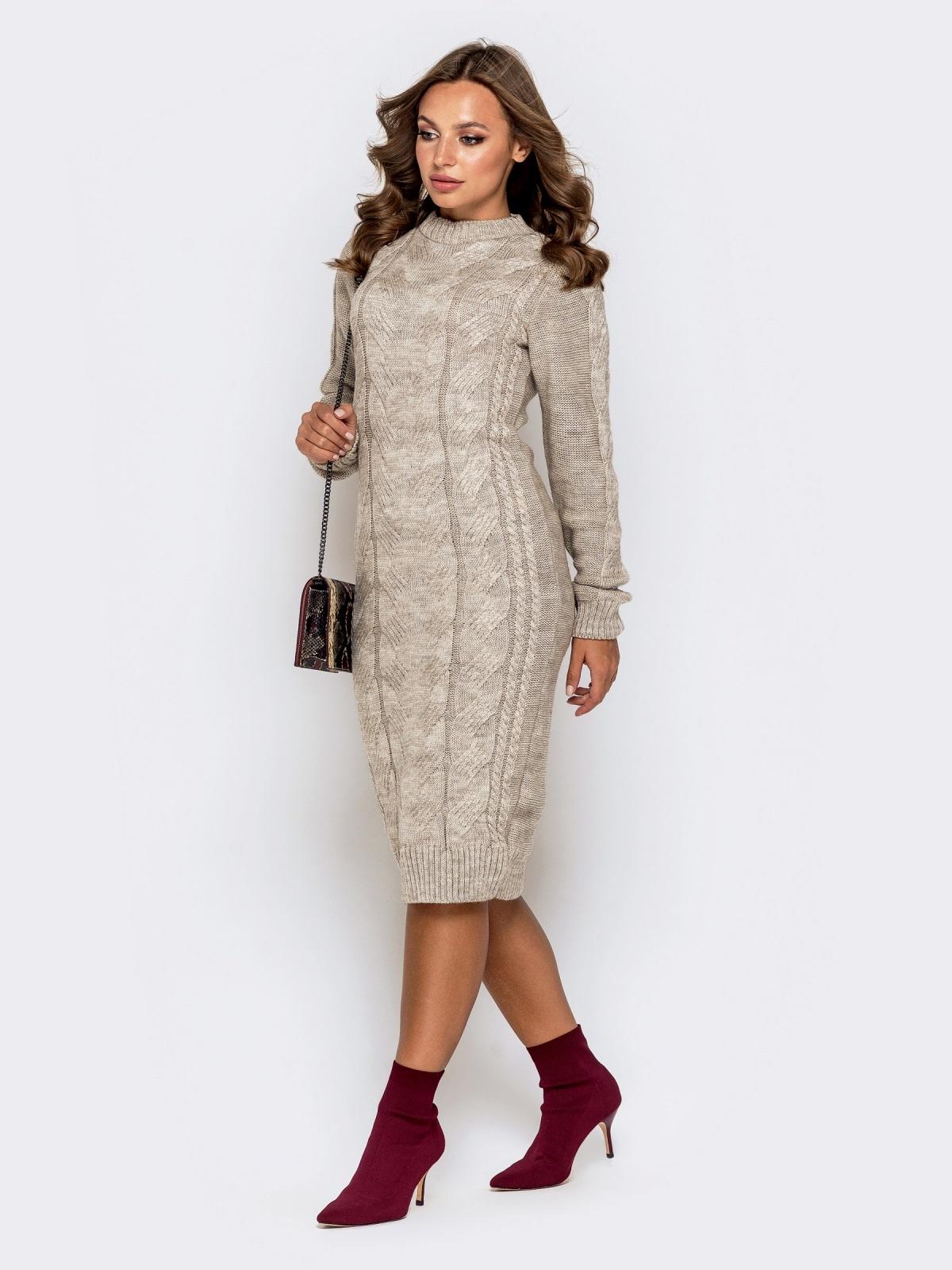 Платье вязаное 26125/2