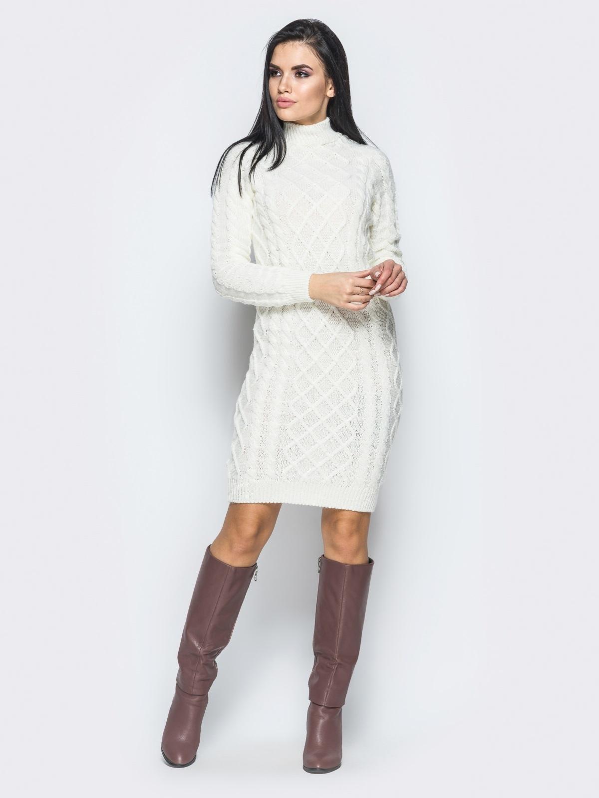 Платье вязаное 25192