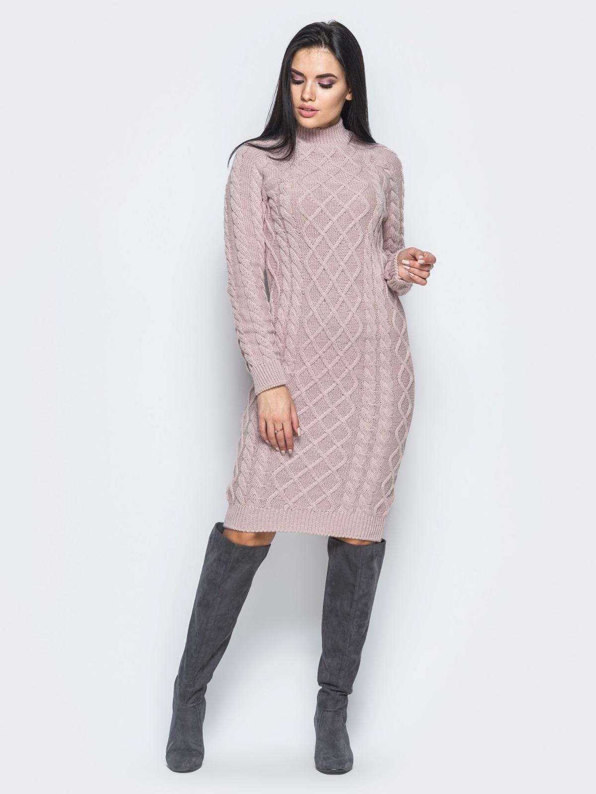 Платье вязаное 25192/3