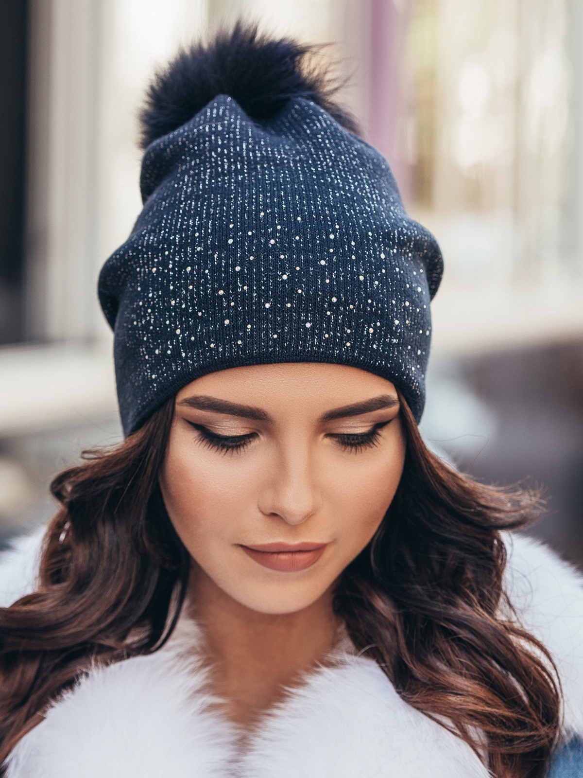 Зимняя шапка 97112