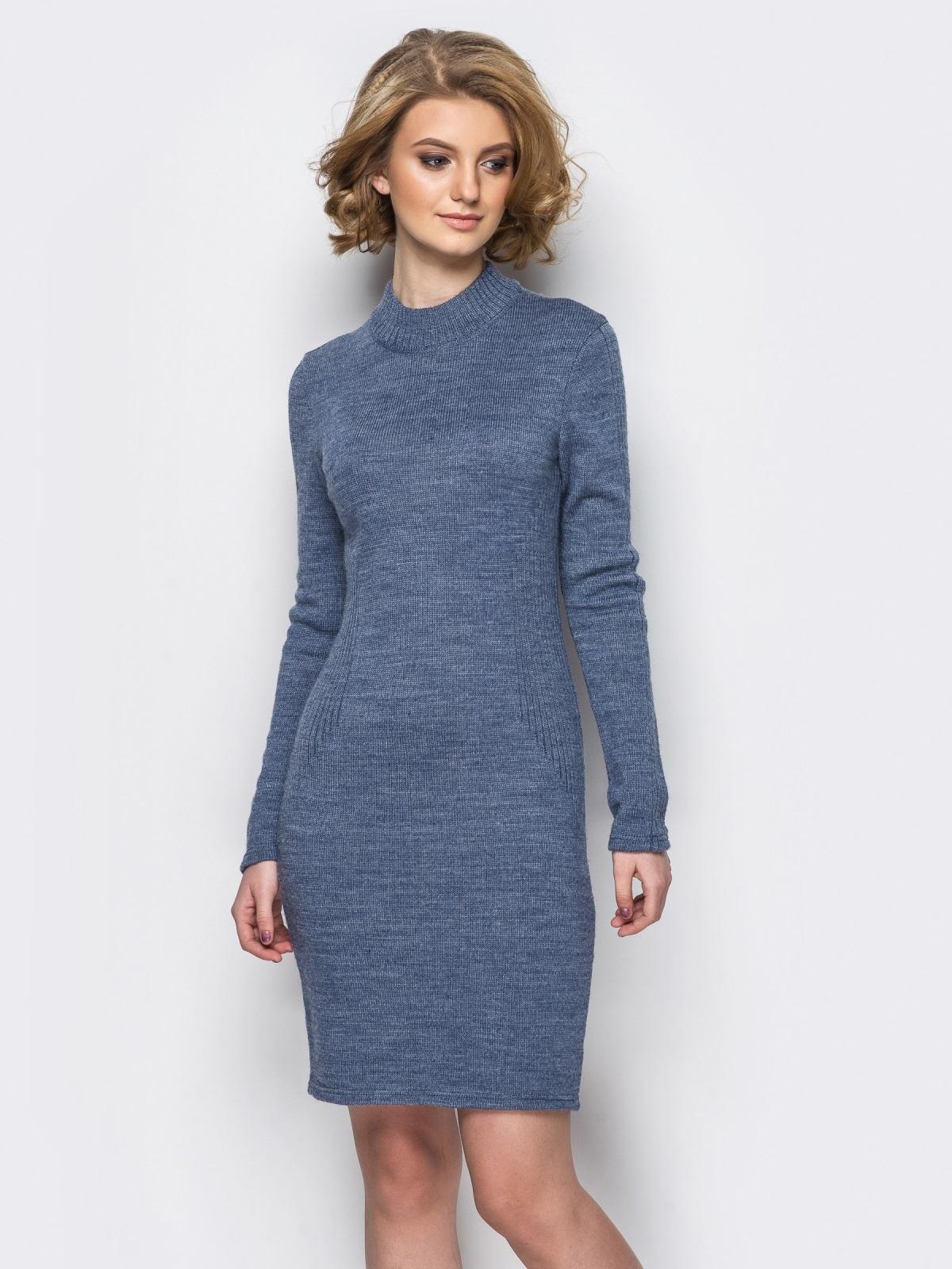 Платье вязаное 24126