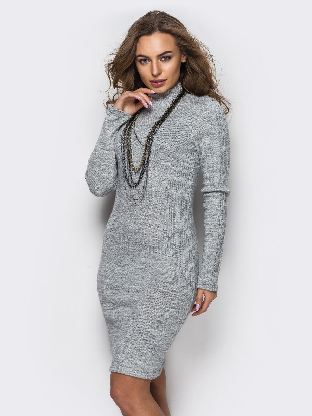 Платье вязаное 24126/2
