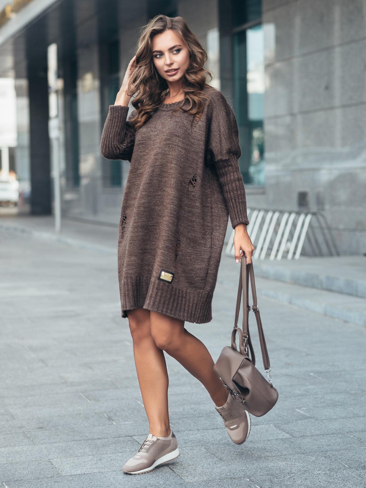 Платье вязаное 7226/015