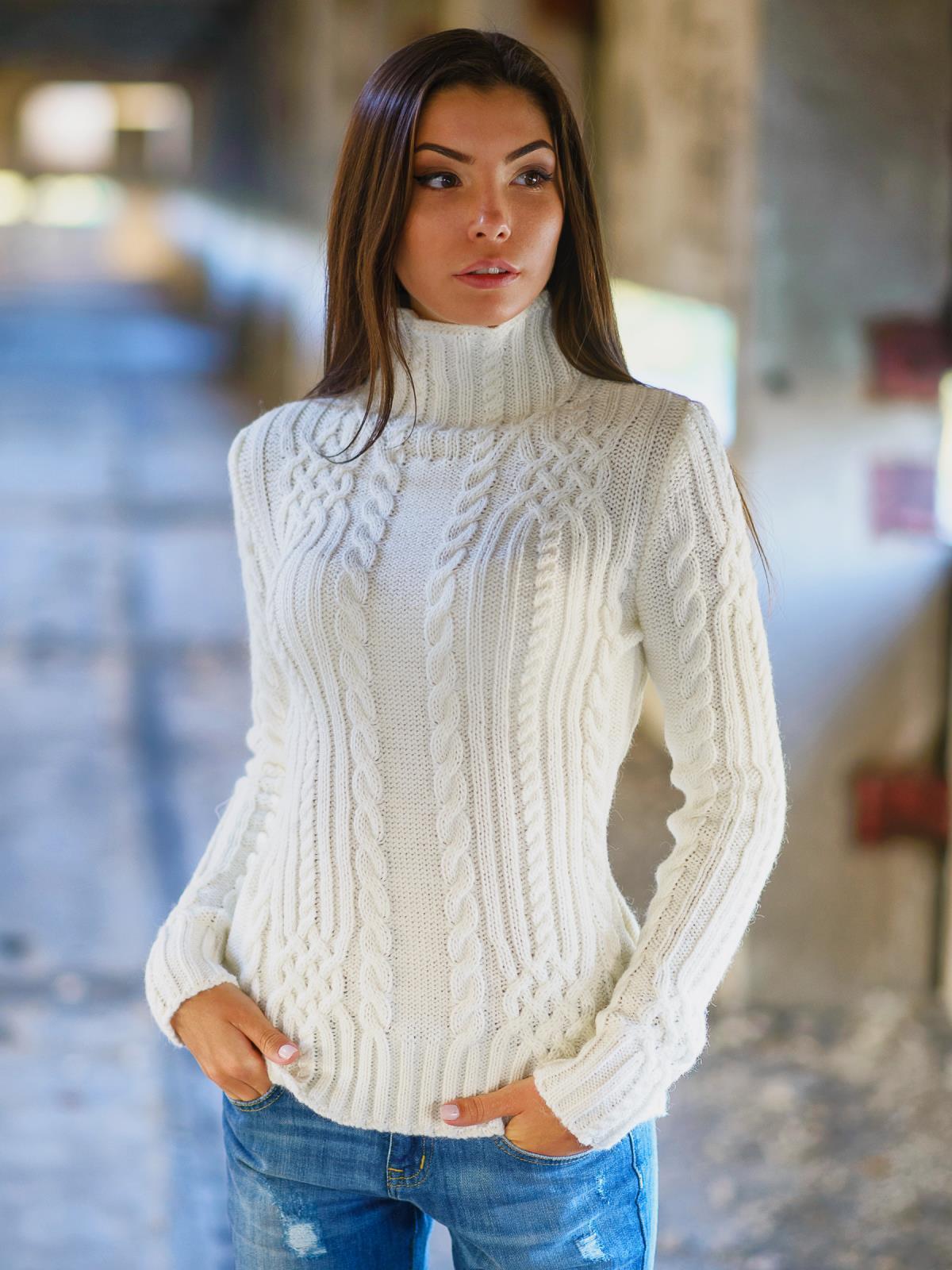 свитер 7050332 вязаная одежда свитеры пуловеры