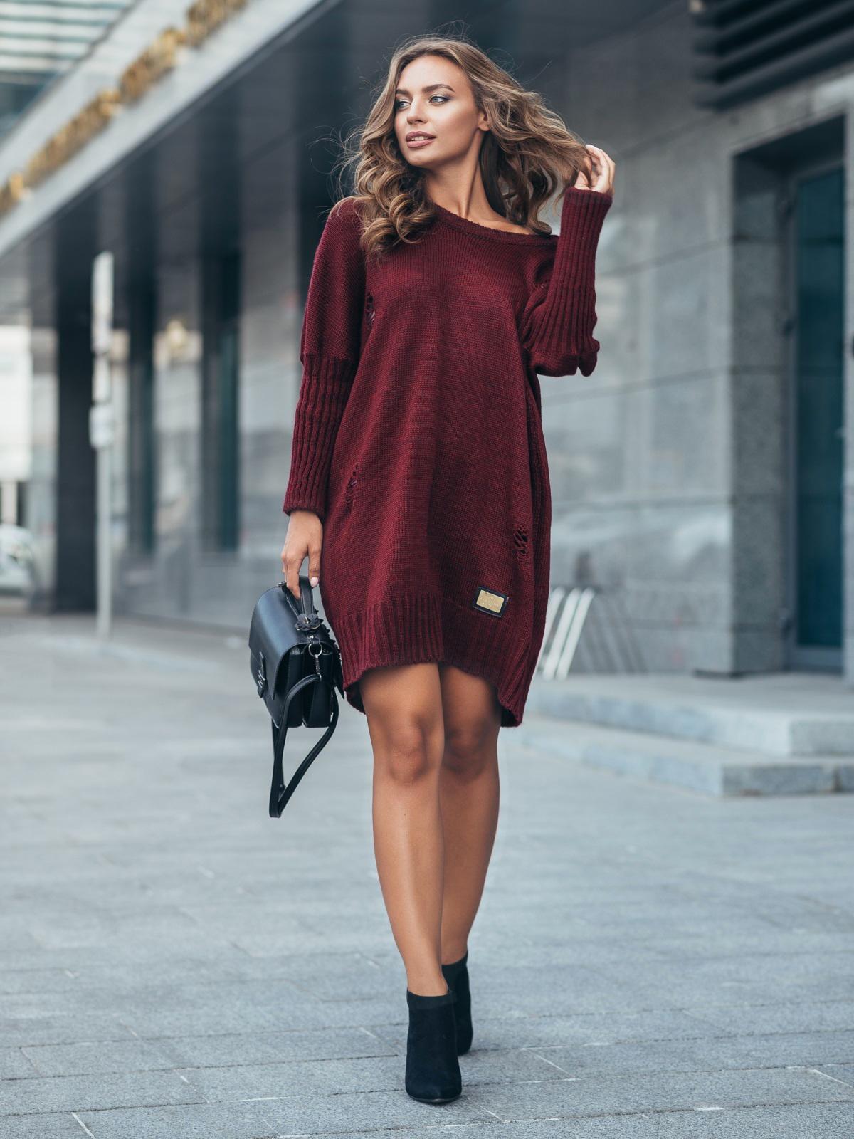 Платье вязаное 7226/333