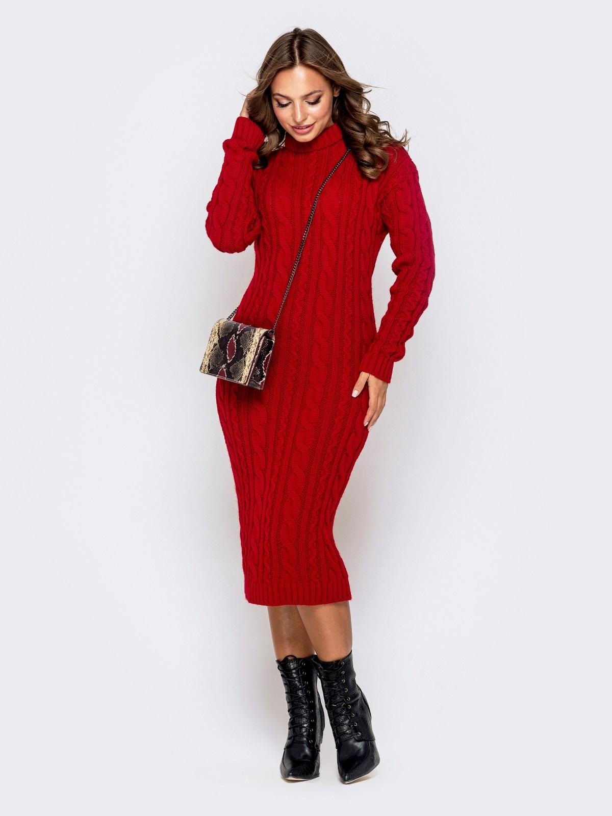 Платье вязаное 32458