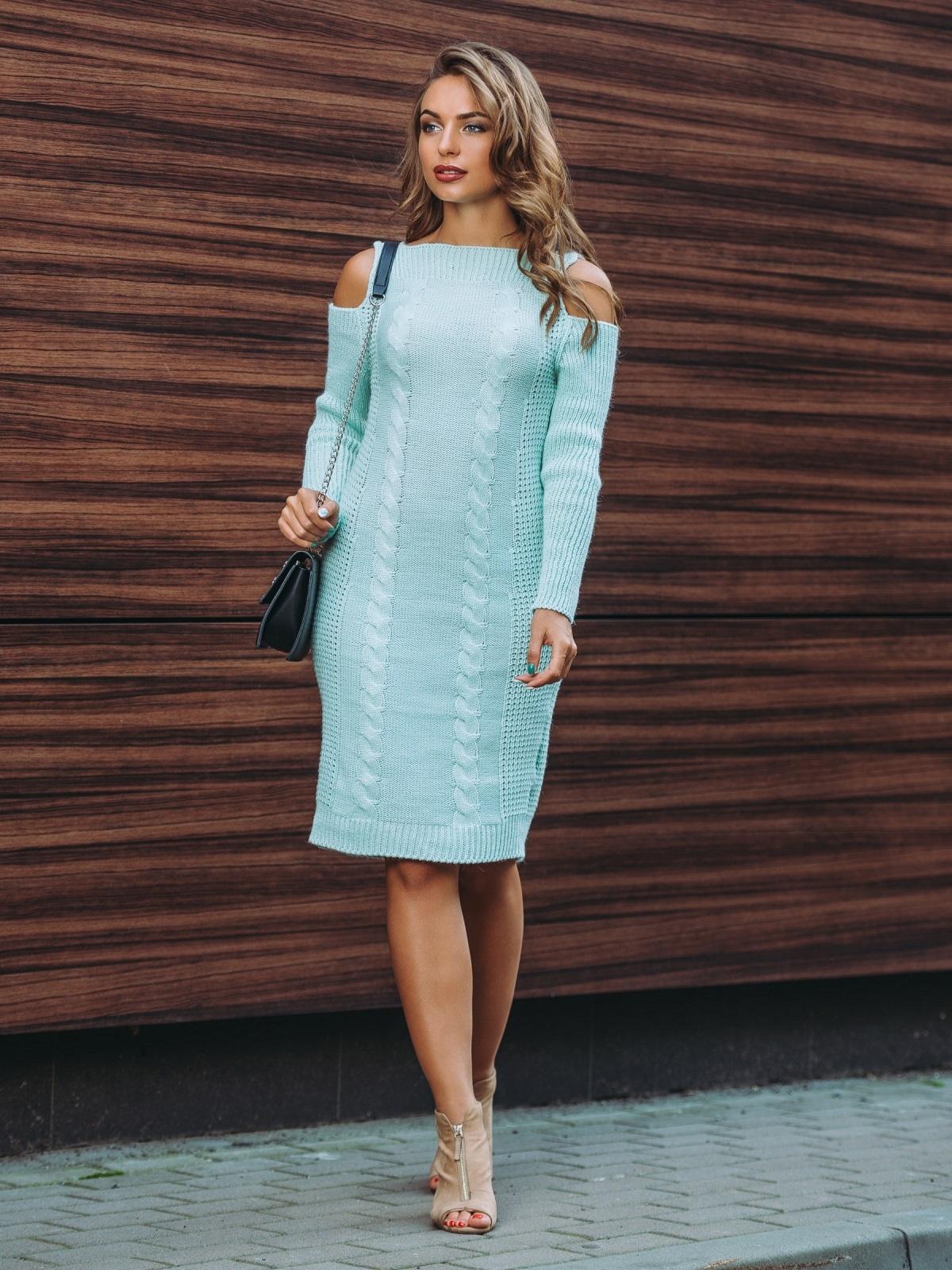 Платье вязаное 7194/339